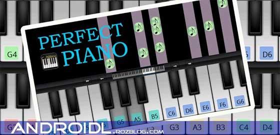 نواختن پیانو با Piano Perfect